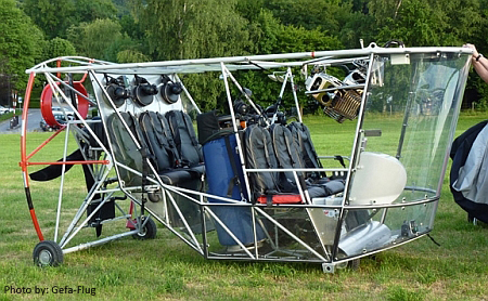 GEFA-FLUG Thermal Airship GD- - Six Seat Gondola